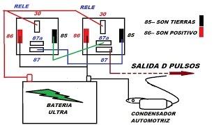 0023 ARREGLO DE DOS RELEBADORES PARA SER USADOS EN VARIOS TRABAJOS EN EL TALLER AUTOMOTRIZ