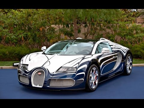 2011 bugatti veyron l 39 or blanc youtube. Black Bedroom Furniture Sets. Home Design Ideas