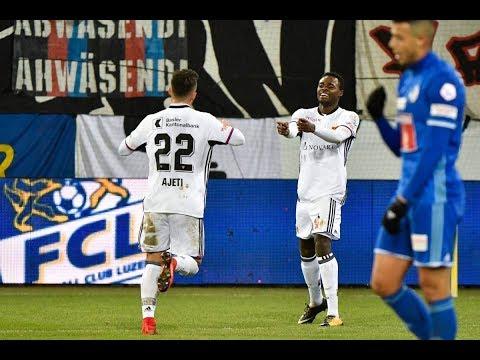 Highlights: FC Luzern vs. FC Basel (1:4) - 25.11.2017