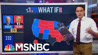 Steve Kornacki Looks At The Road To 270 For Biden And Trump | Morning Joe | MSNBC