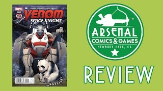 Marvel's Venom Space Knight Review!! (Timmy goes on about Space Pandas)