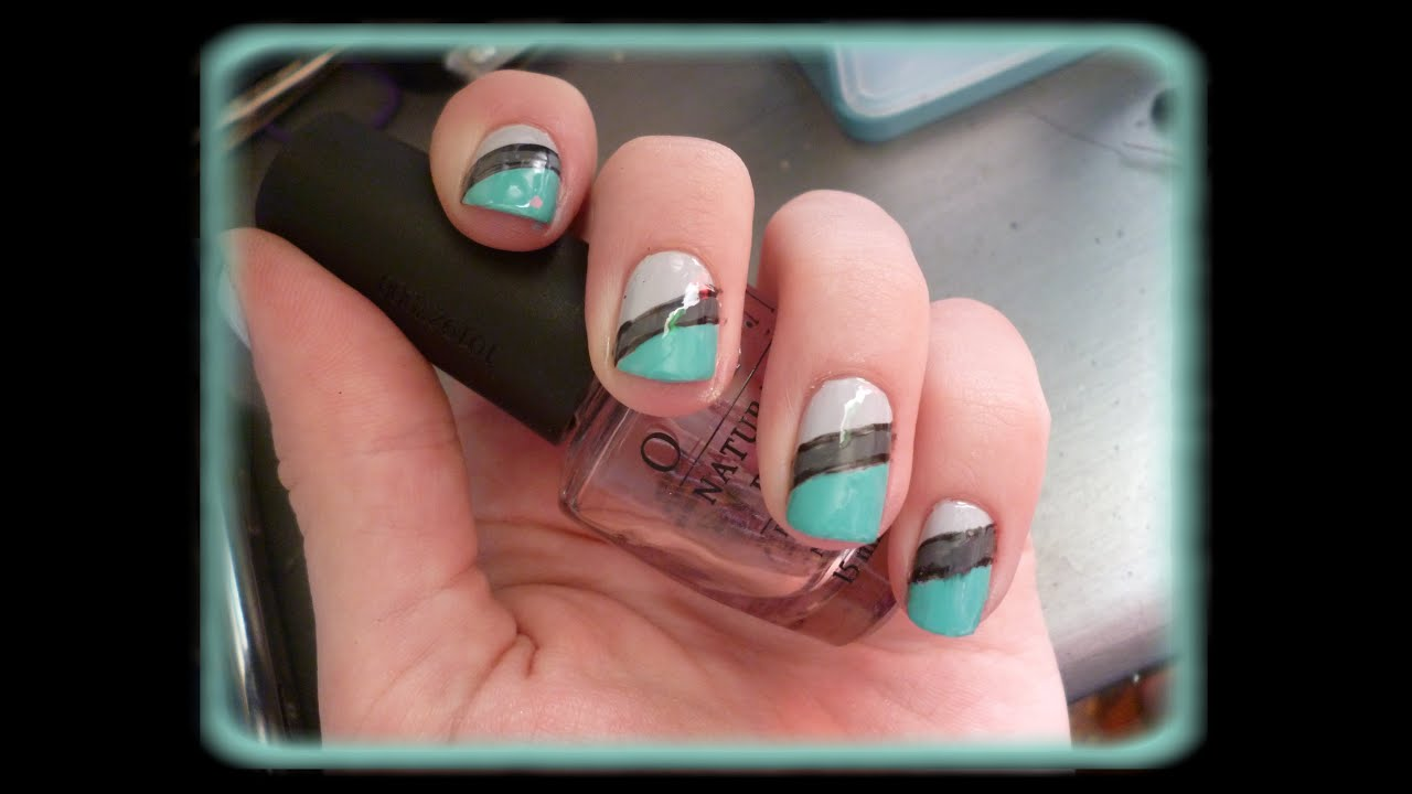 Nail art simple sur ongles courts pr sentation youtube - Etagere murale pour vernis a ongle ...
