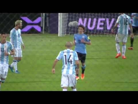 Argentina vs  Uruguay 2016,eliminatorias 2018,toma #2