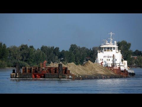 видео: ⚓ Буксировка состава река Конда РТ 665 проект 1741А
