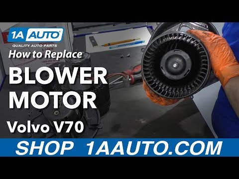 How to Replace Blower Motor 00-07 Volvo V70