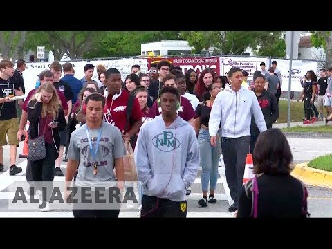 Florida shooting: Stoneman Douglas high school resume classes | Al Jazeera English
