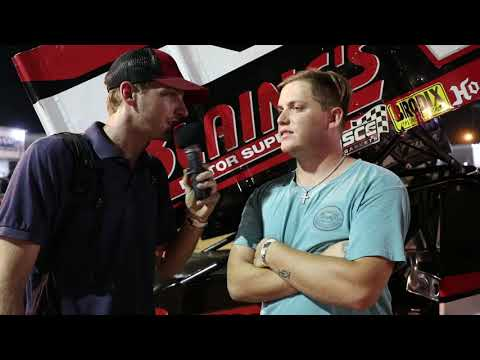 Tucker Doughty Interview At I-30 Speedway Short Track Nationals.