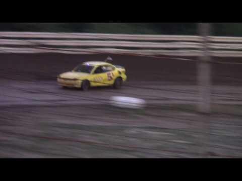 Hummingbird Speedway (7-15-17): Aaron's of DuBois Front-Wheel Drive Four-Cylinder Heat Race #1