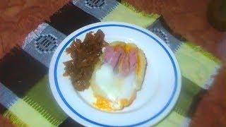 Дешёвый быстрый завтрак