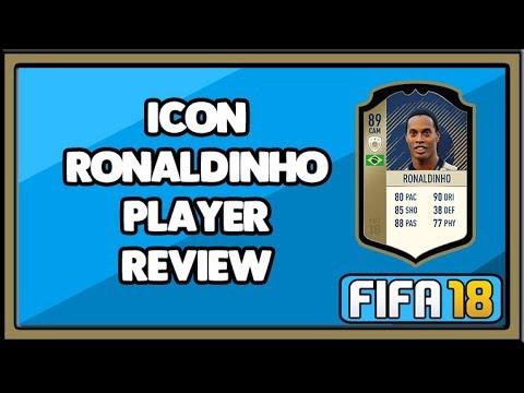 FIFA 18 ICON RONALDINHO PLAYER REVIEW (89)