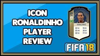 Fifa 18 Icon Ronaldinho Player Review  89
