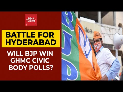 Hyderabad Civic Polls: Will BJP Manage To Win GHMC Civic Body Elections?   India Today EXCLUSIVE