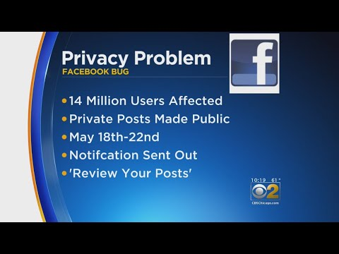Facebook Glitch Changed Millions Of Privacy Settings To 'Public'