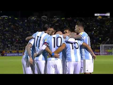 Ecuador vs Argentina 1-3 - All Goals & Extended Highlights - World Cup Qualifiers 10/10/2017 HD