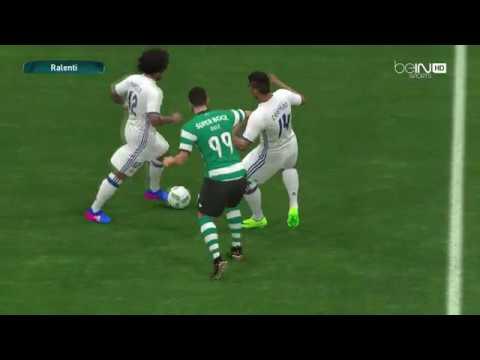 PES 2017#REAL MADRID vs Sporting lisbonne ##WORLD CUP CLUB## 8eme de finale