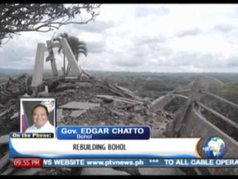 NewsLife Interview: Gov. Edgar Chatto, Bohol - on 'Rebuilding Bohol'    Oct. 16, '13