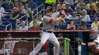 WSH@MIA: Harper goes yard twice against the Marlins