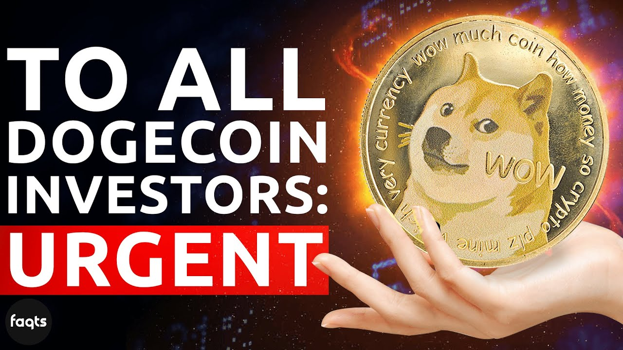 To All Dogecoin Investors: URGENT | Dogecoin Prediction