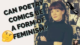 What ARE Poetry Comics, & Are They Feminist?? EXPLAINED by Catherine Bresner #metoo #feministpoetry