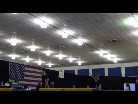 Powder:Landry - Women's Synchro Comp - 2012 USA Gymnastics Championships
