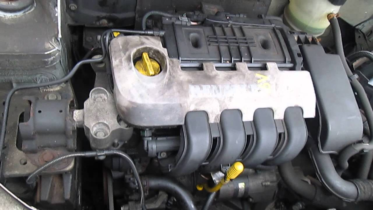 renault clio 1 2 16v engine 92k miles youtube. Black Bedroom Furniture Sets. Home Design Ideas