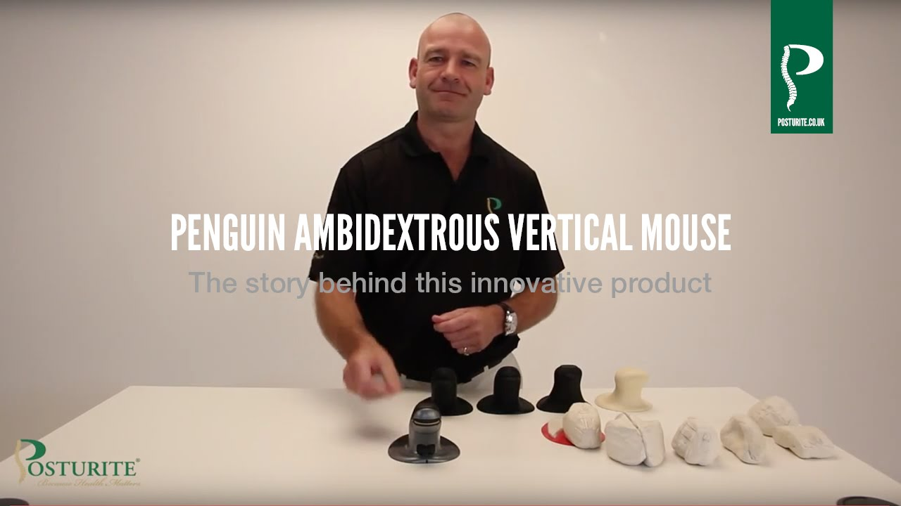 3e2c4f39fc0 The Penguin Ambidextrous Vertical Mouse - The story behind this innovative  product