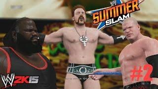 WWE 2K15 Gameplay - Hall Of Pain - Kane y Sheamus Nuevas victimas al Salón del Dolor
