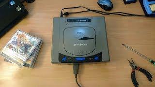 Чиповка Sega Saturn c помощью чипа Pahntom Universal