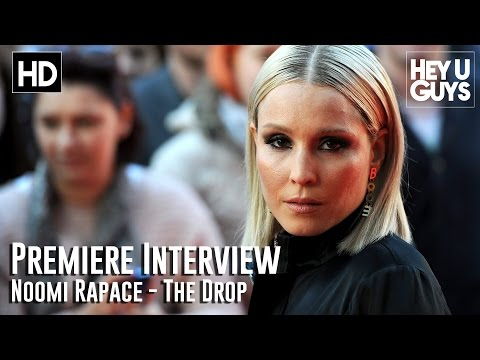 Noomi Rapace Interview - The Drop Premiere