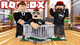 ROBLOX ESCAPE THE GROCERY STORE OBBY!! EVIL RO-MART MANAGER GONE MAD!!!