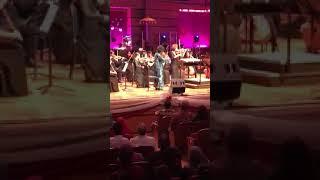 Tun Hasmah performed violin at Dewan Filharmonik Petronas