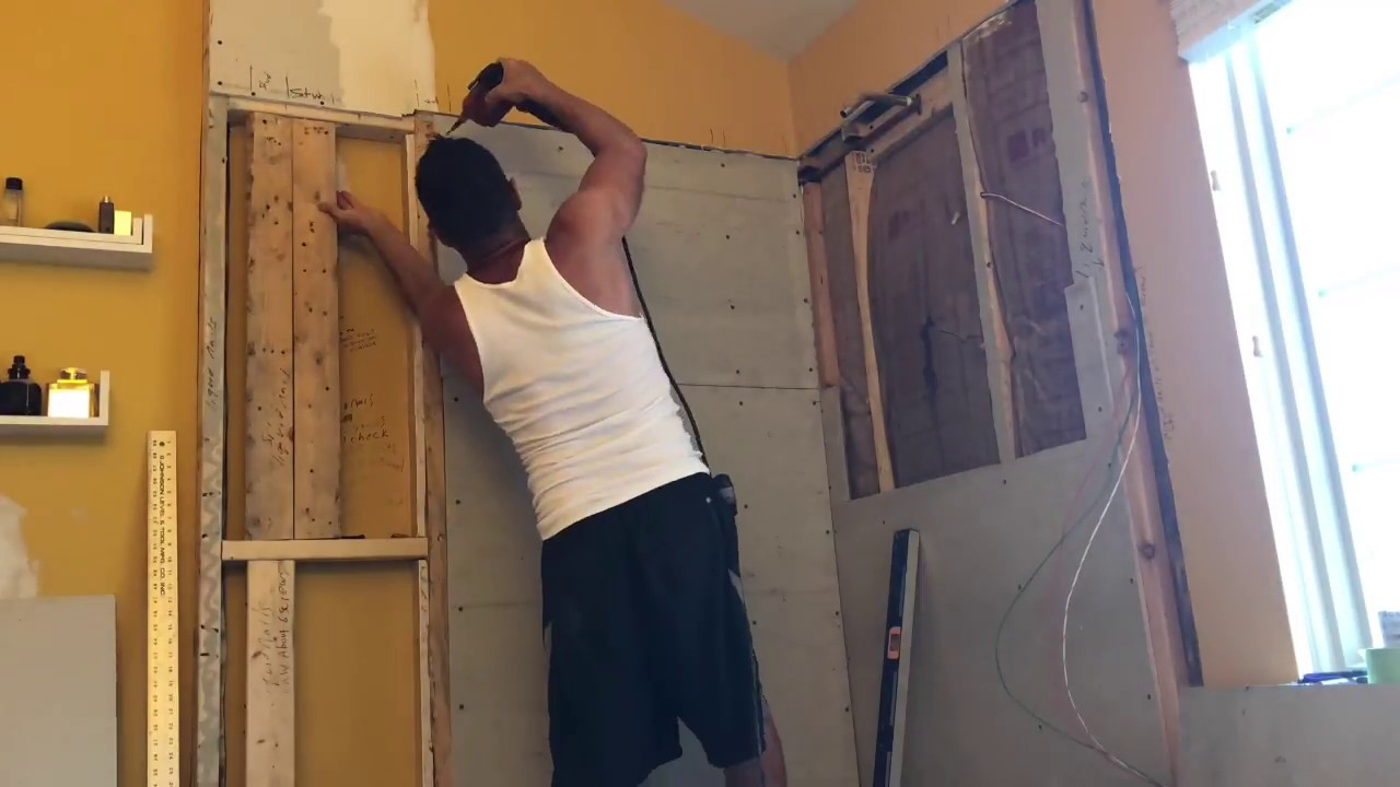how to install backer board in a shower for tile walls tips and tricks