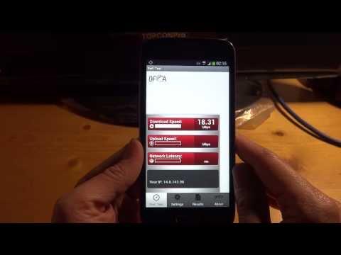 Samsung Galaxy Express 2 LTE G3815 Test 1