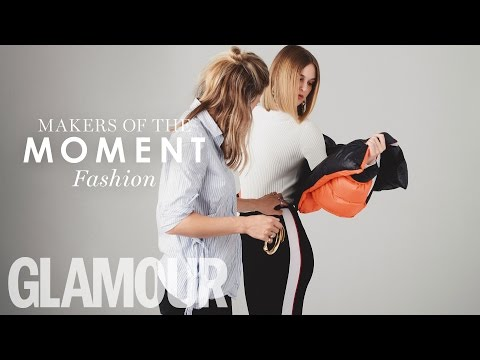 Makers of the Moment: Fashion (Behind the Scenes Photoshoot) | Glamour UK