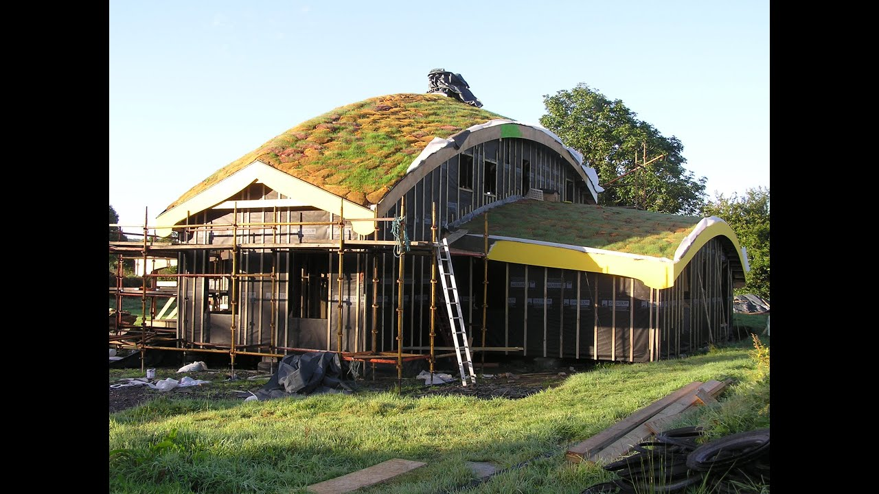 How We Built Our House U2013 Part Two: The Grass Roof.