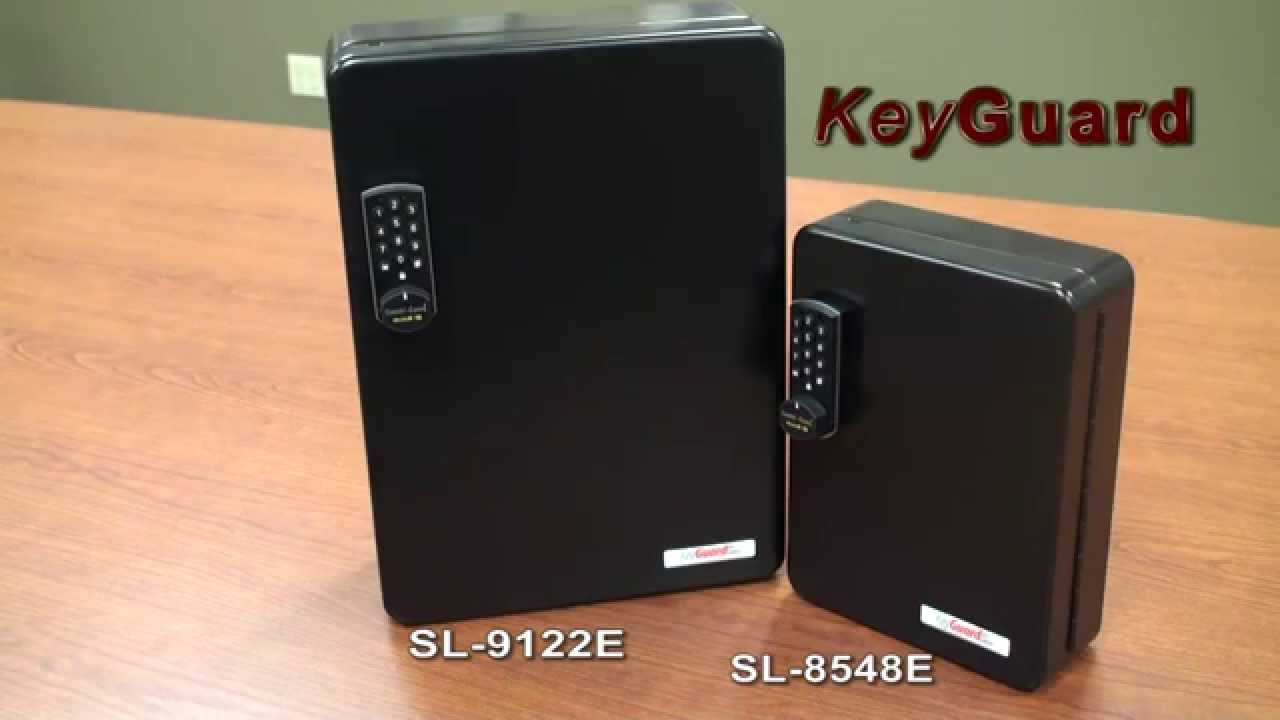 SL 8548E KeyGuard Electronic Key Cabinet, Combination Key Cabinet, Key  Cabinets   YouTube