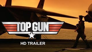 Gambar cover TOP GUN (1986) FINAL Trailer #2 - TOM CRUISE - KELLY MCGILLIS