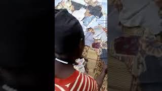 Making washable sanitary pads in Kampala Uganda