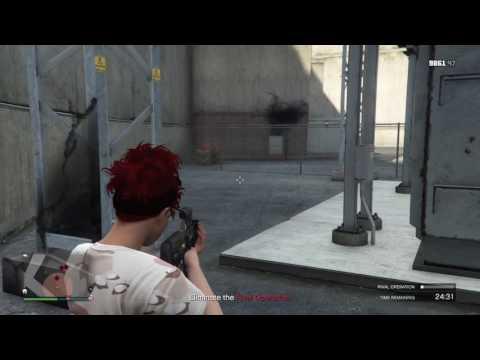 GTA 5 - Gunrunning resupply - Rival Operation at Vinewood Water and Power