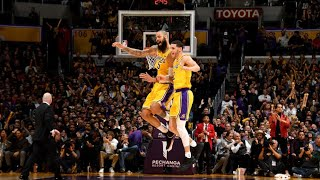 Los Angeles Lakers vs Chicago Bulls 100-107 full game highlights Jan 15, 2019