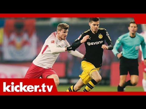 Tempo und Offensive garantiert: Tabellenführer Leipzig zu Gast in Dortmund  | kicker.tv