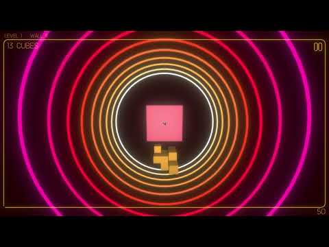 CubedCubed - Neon-Filled Tetris Hole in the Wall Arcade Puzzler!