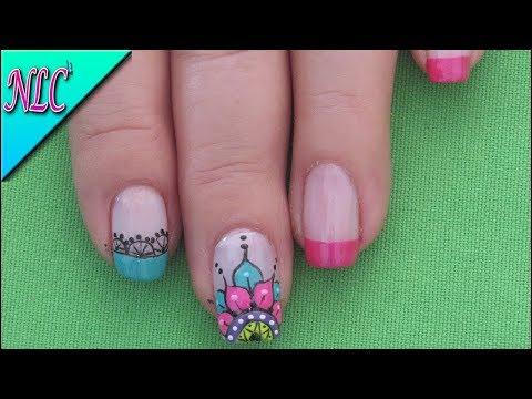 Decoracion De Uñas Mandalas Mandalas Nail Art Como