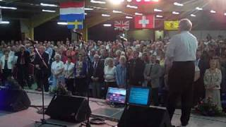 The Gospel Music Convention in Scotland singing the 23 Psalm to us while we were there!