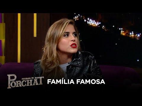 Camilla Camargo já se sentiu pressionada por ser de família famosa