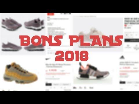BONS PLANS SOLDES SNEAKERS 2018