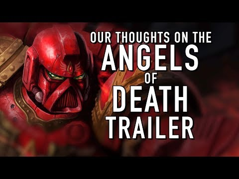 Reaction to Angels of Death Teaser Trailer Warhammer 40k For the Greater WAAAGH