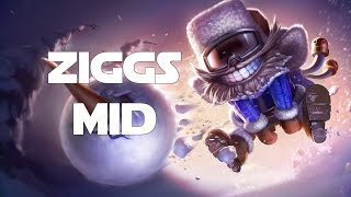 League of Legends - Snow Day Ziggs Mid