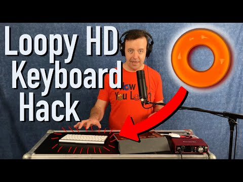 Loopy HD Keyboard Hack