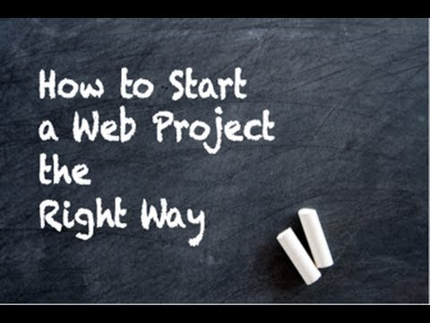 Gathering Requirements for a Web Project
